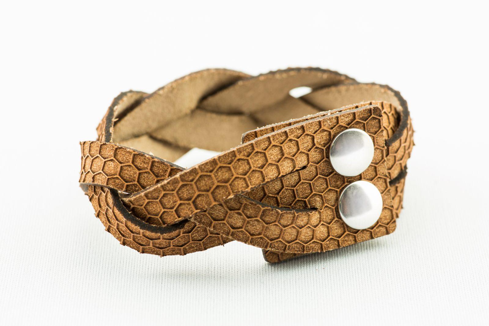 Schmuck Petra Kupfer-Armband braun-9565
