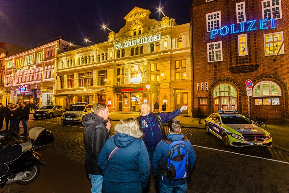 Hamburg Stadtführungen Reeperbahn Davidwache Polizei