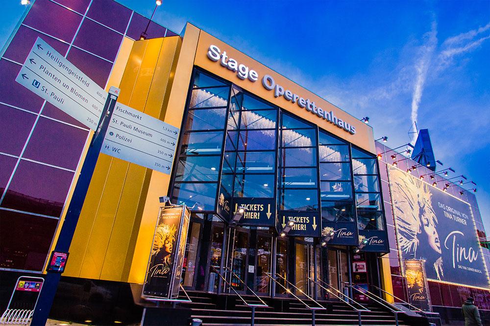 Hamburg Stadtführungen Stage Operettenhaus