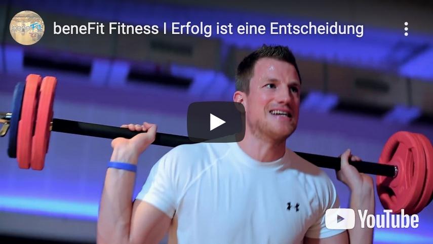 Link zum Werbetrailer von benefit Fitnes