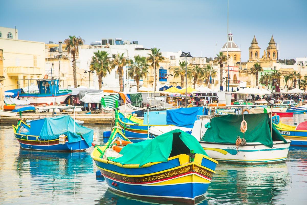 SomePro Stilleben Marsaxlokk Malta